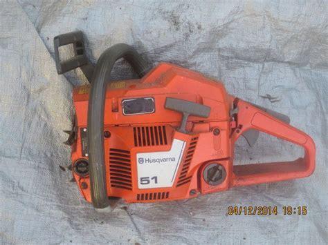 Husqvarna 51 Chainsaw   Chainsaw