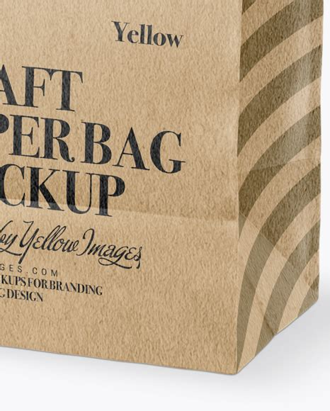 Somehow or the other we all love and enjoy hunting for the best outfits and accessories for ourselves and therefore whenever we get a chance to explore the shops and malls. Download Kraft Paper Bag Label Mockup Half Side View ...
