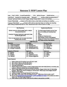 downloadable sample siop lesson plan templatejpg lesson