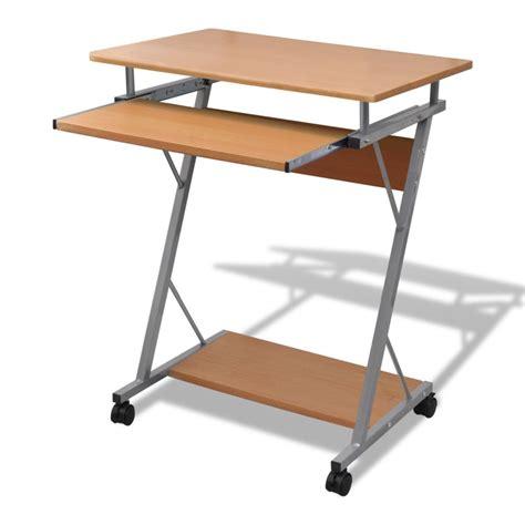 bureau pour ordinateur pas cher acheter table de bureau brune pour ordinateur pas cher