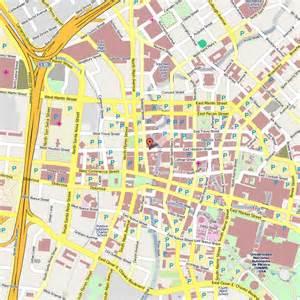 San Antonio Riverwalk Hotels Map
