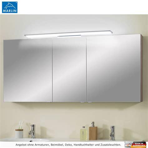 spiegelschrank mit led marlin cosmo spiegelschrank mit led aufsatzleuchte 150 cm