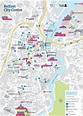 Belfast city center map