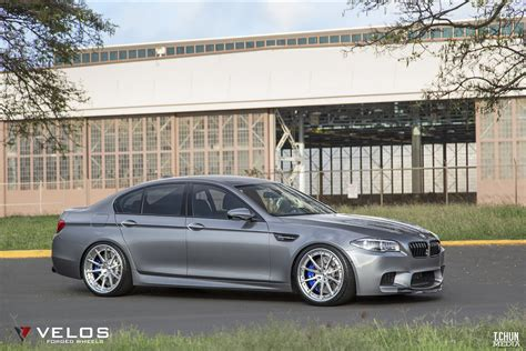 Bmw F10 M5 On Velos S10 3 Pc Forged Wheels Velos