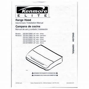 Kenmore Range Model C880 Manual Transfer