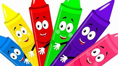 Crayons Colors Song Rhymes