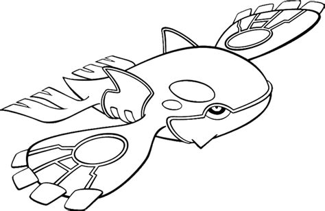 Primal Kyogre Coloring Page kyogre coloring pages 16529 | aaegroup