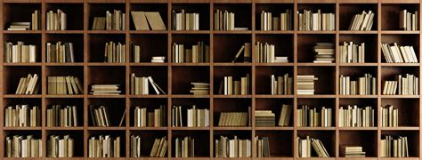 Bookcase Wall Paper by Bookcase Wall Mural Wallsauce Us
