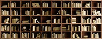 Bookshelf Wallpapers Bookcase Wall Modern Walls Feature