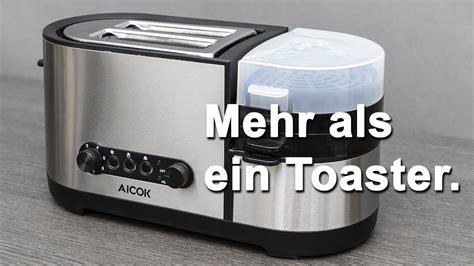 toaster und eierkocher review aicok pc 001 toaster und eierkocher