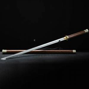 Katana,Handmade Forge High Carbon Steel Samurai Sword with ...