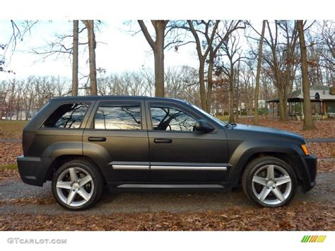 2006 jeep grand cherokee custom custom matte black 2006 jeep grand cherokee srt8 exterior