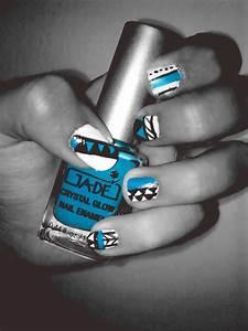 tribal nail art on Tumblr