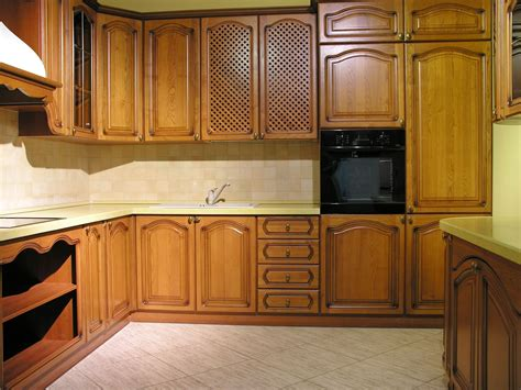 what wood is best for kitchen cabinets corner light brown wooden kitchen cabinet combined with 2166