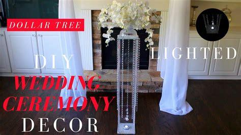 Diy Wedding Ceremony Decor Dollar Tree Wedding