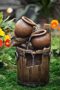Resin, Fiberglasspot, And, Urn, Water, Fountain