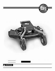 Dr Power 42 Lawn Mower Deck User Manual