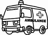 Ambulance Coloring Going Printable Boys Sheets Wecoloringpage sketch template