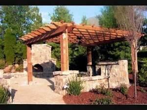 Construire Une Pergola En Bois : pergola en bois youtube ~ Premium-room.com Idées de Décoration