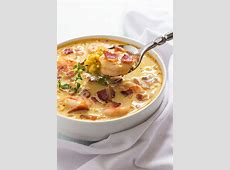 Bacon, Shrimp and Corn Chowder The Blond Cook