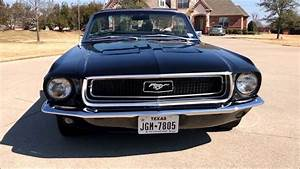 1968 Ford Mustang Convertible For Sale   33 900