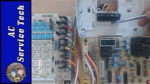 Wiring A Heat Pump Thermostat To The Air Handler And