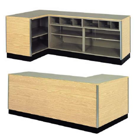 Home Interior Sales - left side l shaped counter retail checkout counter creative store solutions