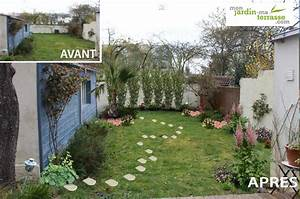 idee amenagement jardin devant maison ides With idee amenagement jardin devant maison