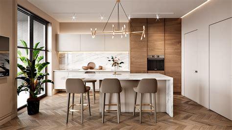 classic kitchen backsplash interior design of apartment modern apartment with 2221