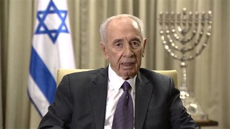 President Shimon Peres' Holiday Greeting for the Iranian