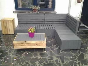 Salon Jardin En Palette : mon salon de jardin en palette ~ Nature-et-papiers.com Idées de Décoration