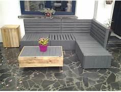 Jardin Palette Bois. am nager son jardin avec des meubles en ...