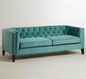 Teal kendall velvet sofa everything turquoise for Teal velvet sectional sofa