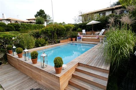 25 best ideas about piscine bois on terrasse bois piscine maison avec patio and