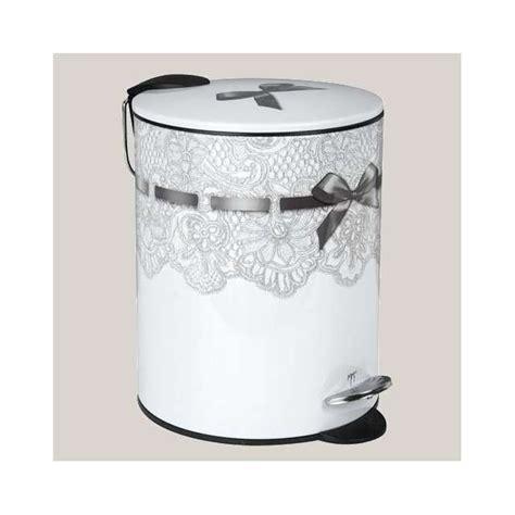poubelle de salle de bain mathilde m d 233 cor dentelles