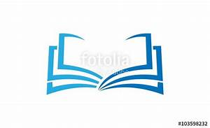 """""""book education logo"""" Stock image and royalty-free vector ..."""
