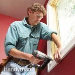 install window trim  family handyman