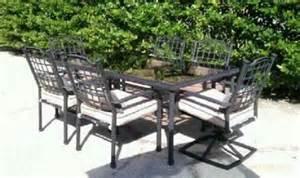 800 hton bay seating style aluminum outdoor patio