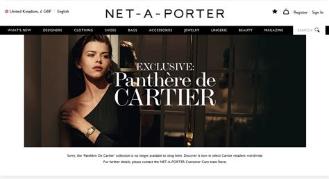 net a porter uk cartier frustrates retail partners with panth 232 re collection roll out watchpro