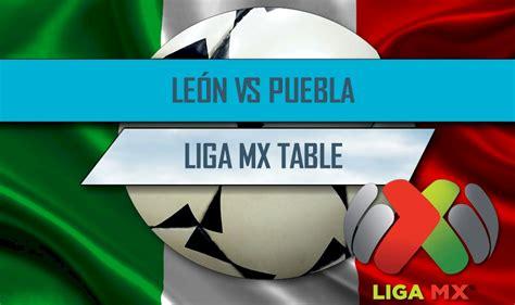 Nou camp el león consiguió su objetivo levantándose de la. León vs Puebla 2016 Score En Vivo Ignites Liga MX Table ...