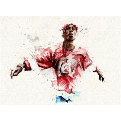 pac official limited edition illustration tupac art