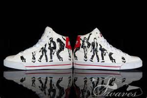 designer nike shoes michael jackson quot smooth criminal classics quot custom nike shoes by swaves