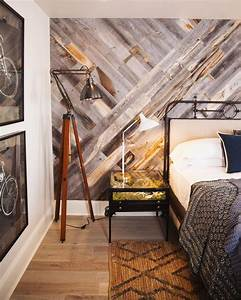 30 wood accent walls to make every space cozier digsdigs With what kind of paint to use on kitchen cabinets for how to make wood plank wall art