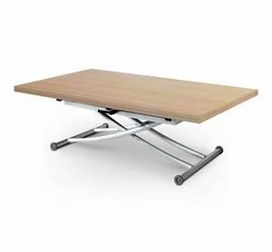 Table Basse Chene Clair : table basse relevable ch ne clair up d pliante xl ~ Teatrodelosmanantiales.com Idées de Décoration