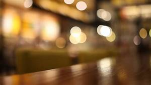 On The Table At Cafe Blurred Background Stock Footage ...