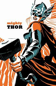 The Mighty Thor Comics Variant Cover
