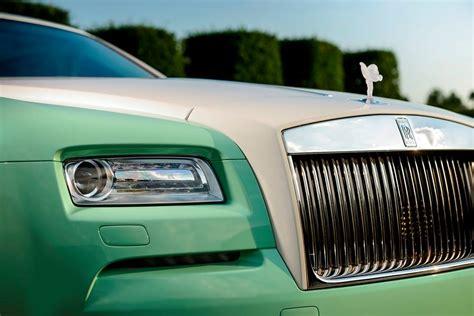 green rolls royce michael fux s green rolls royce wraith is perplexing