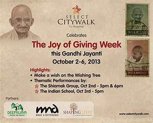 Select CITYWALK celebrates The Joy of Giving Week this ...