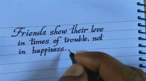 write neat  good handwriting