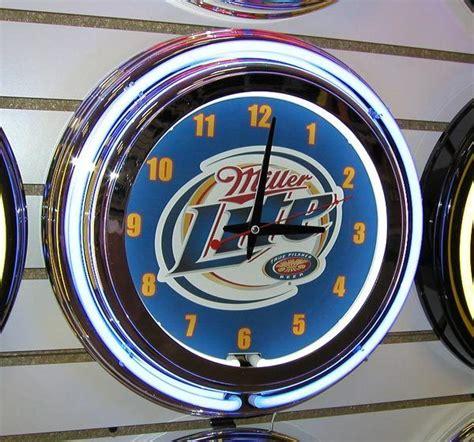 miller beer clock shop collectibles online daily